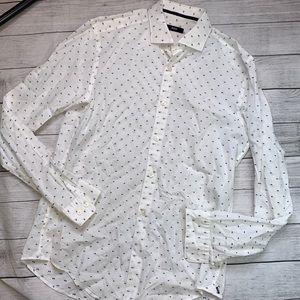 BOSS Hugo Boss Men's Cotton Dress Shirt Medium